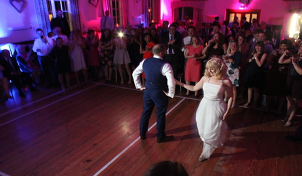 One of our Top 10 DJs performs at a Wedding in Kent.