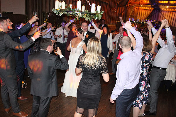Berkshire Bride and Groom with Wedding DJ London Hire